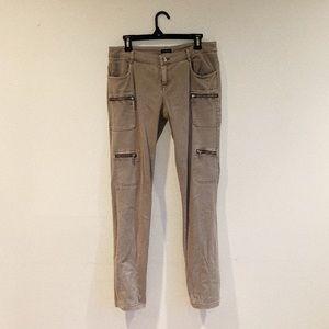 Motivi Khaki Cargo Pants